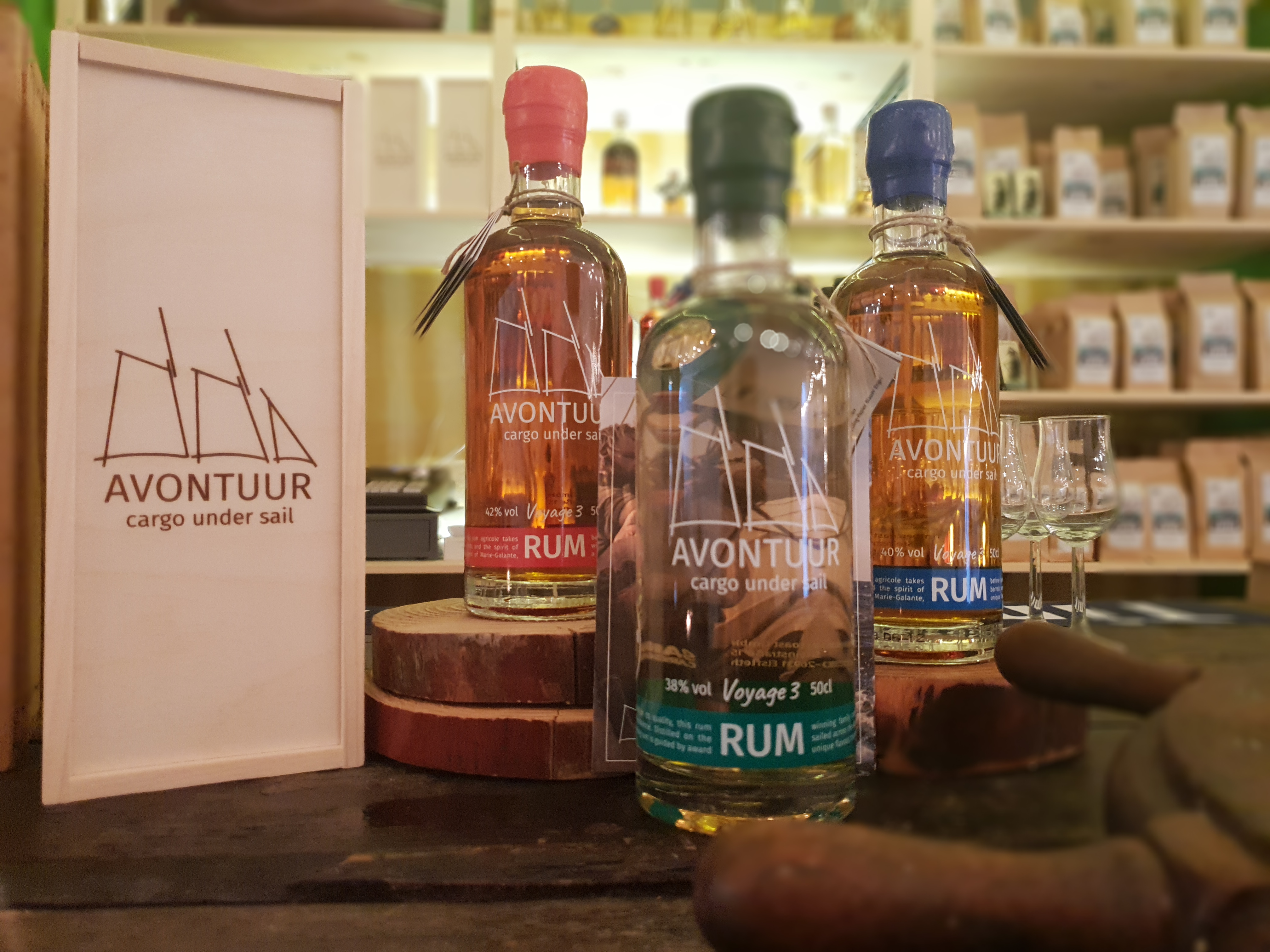 Caribbean Rum Collection!