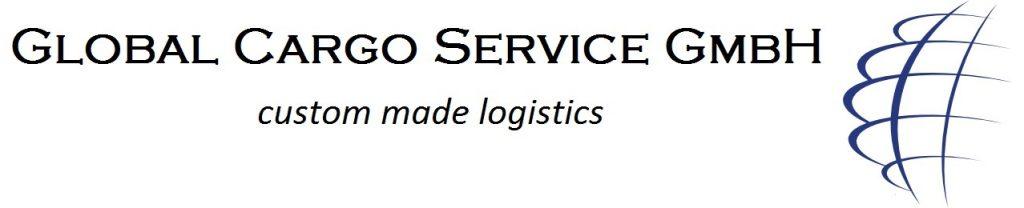 Global Cargo Service - Logo + Schriftzug